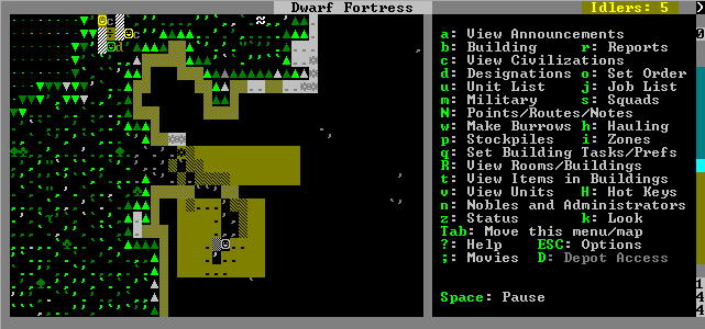 Dwarf Fortress screenshot